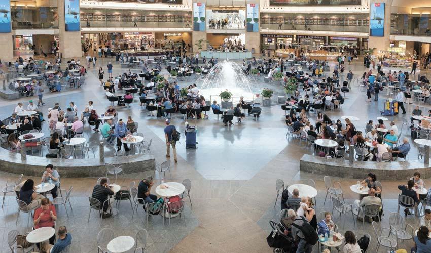 נמל התעופה בן גוריון (צילום: אייל טואג)