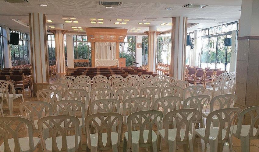 בית הכנסת של קהילת מוריה (צילום: קהילת מוריה)