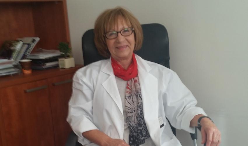 """ד""""ר קטלין גולדנברג (צילום: ד""""ר אירנה רוחקיאן)"""