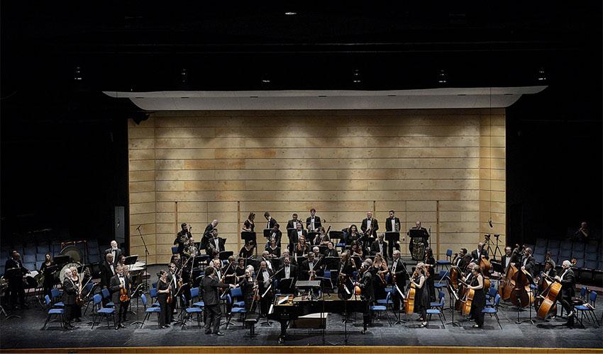 התזמורת הסימפונית חיפה בקונצרט פתיחת העונה (צילום: יואב איתיאל)