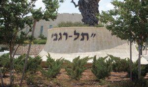 """בית העלמין תל רגב (צילום: יח""""צ)"""