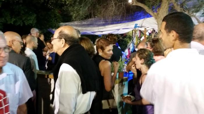 מסיבת הפתיחה בגן הכט (צילום: שי אילן)