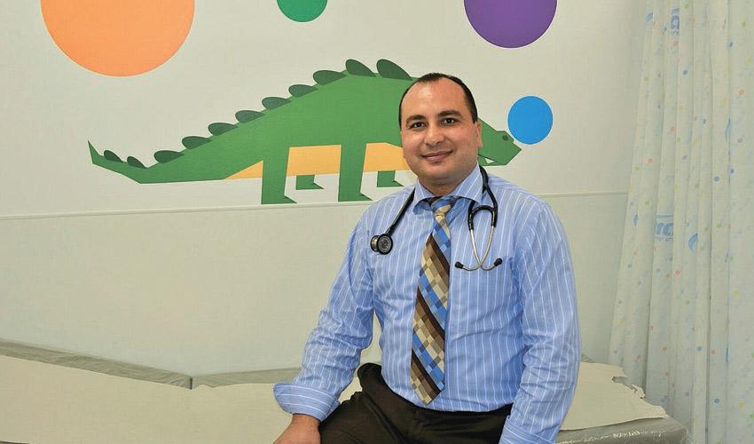 """ד""""ר איהאב חטיב (צילום: דוברות מכבי שירותי בריאות)"""