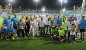 משתתפי הטורניר לזכרו של אסי ורדי (צילום: זוהר רום, נמל חיפה)