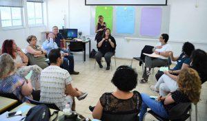 הכנס של שירותי הרווחה בעיריית חיפה (צילום: ראובן כהן)