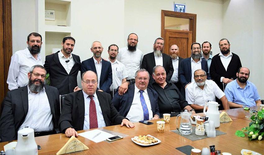 ישיבת ההתנעה של פורום הרבנים (צילום: ראובן כהן)
