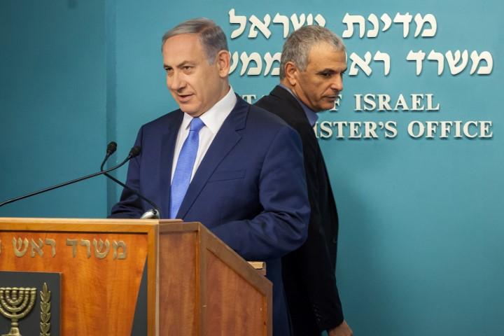 ראש הממשלה בנימין נתניהו ושר האוצר משה כחלון (צילום: אמיל סלמן)