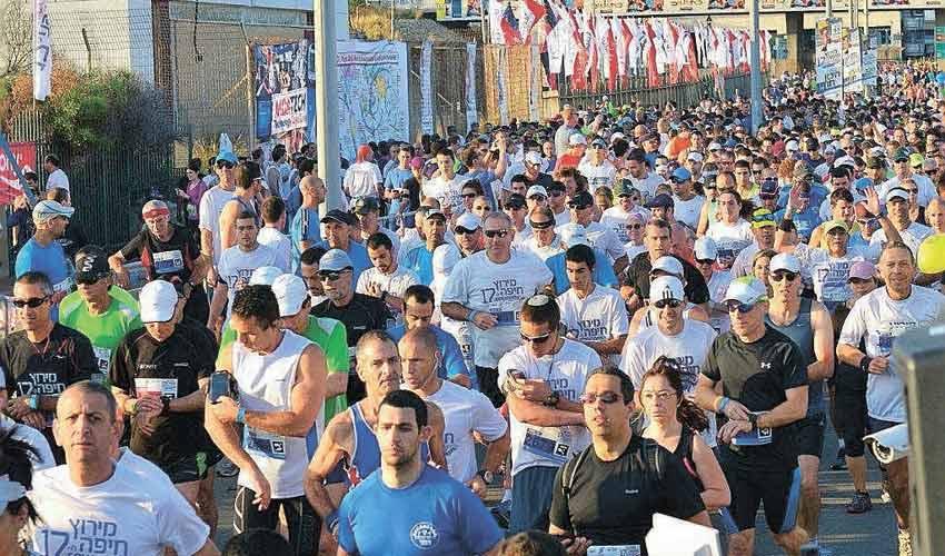 מרוץ חיפה בשנה שעברה. עלה לליגה של הגדולים (צילום: צבי רוגר, דוברות עיריית חיפה)
