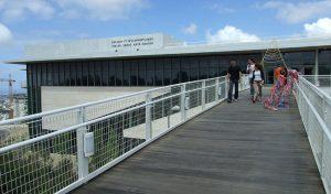 המשכן לאמנויות באוניברסיטת חיפה (צילום: דוברות אוניברסיטת חיפה)
