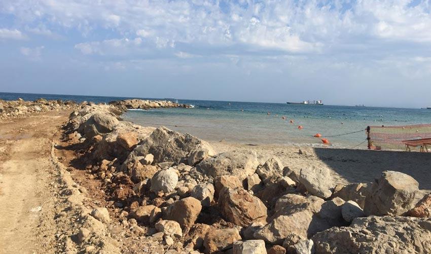 שיקום שובר הגלים (צילום: איליה יוריסט, חברת יפה נוף)