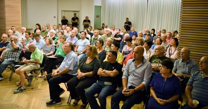 מפגש האגודה לתרבות הדיור (צילום: ראובן כהן)