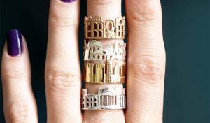 """טבעות של שכטמן. """"אני פשוט מקפיאה את הרגע באמצעות הטבעות שאני יוצרת"""""""