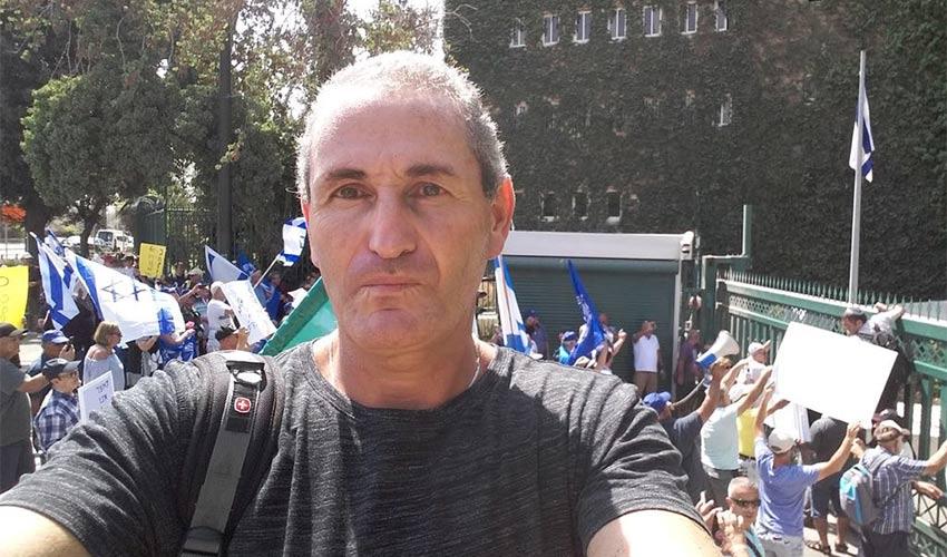 מייסד מפלגת זכויותינו בקולנו גיל רוטר