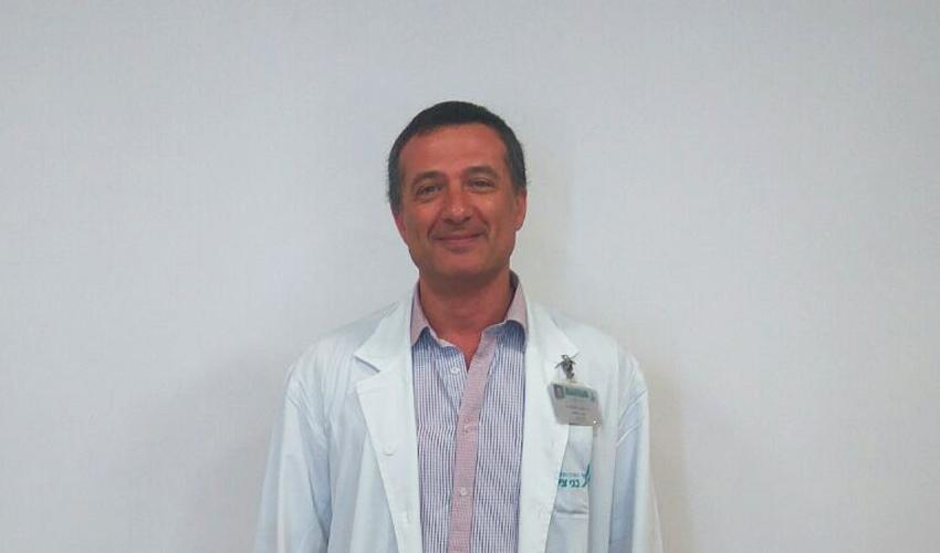 """ד""""ר גלב סלובודין (צילום: אסנת זיבנברג)"""