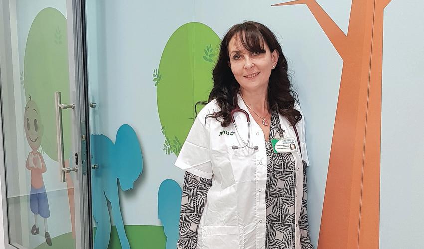 """ד""""ר סבטלנה ברגמן סירה (צילום דוברות שירותי בריאות כללית)"""