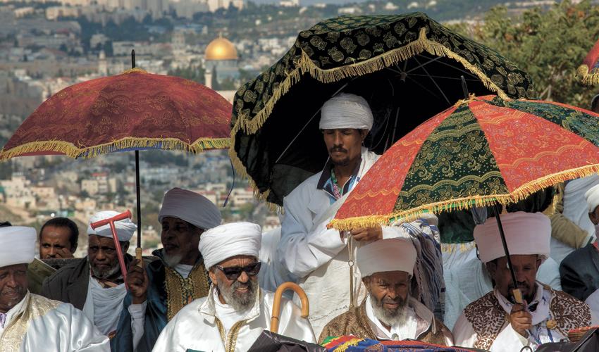חג סיגד בירושלים (צילום: אוליבייה פיטוסי)