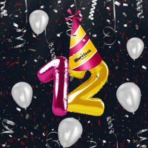 יום הולדת 12 למוריסון. צ'ייסרים ב-12 שקל