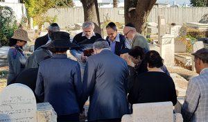 צילום סצנה בבית הכנסת העתיק בחיפה (צילום: שושן מנולה)