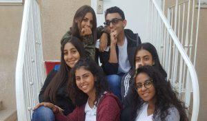 צוות המיתוג של אלמותנאבי (צילום: בית הספר אלמותנאבי)