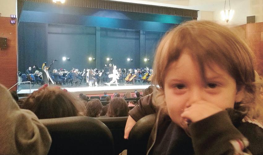 קונצרט, לא בלט. אגם הברבורים