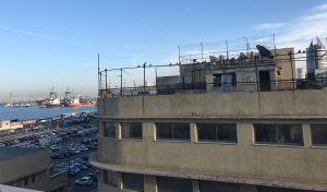 המבנה ברחוב הנמל 69 שהוקצה לטובת הפרויקט