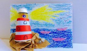 סדנת מגדלור במוזיאון הימי (צילום: יעל גרוסמן ארזואן)