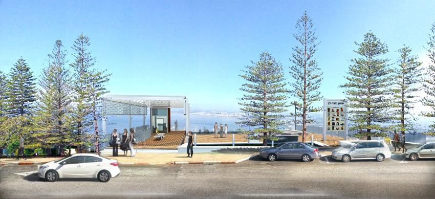מוזיאון מאנה כץ (הדמיה: פלוק אדריכלים)