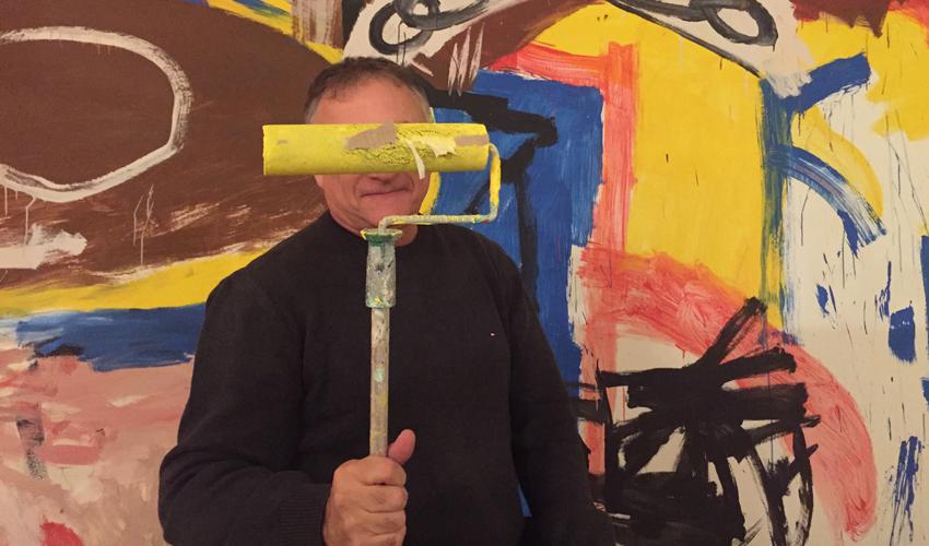 """גיל גורן. """"היה לי חלום – לעשות משהו בחיפה שקשור באמנות"""" (צילום: חגית הורנשטיין)"""