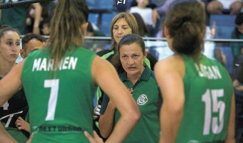 קטיה פודולנסקי. תחזור לעמדת עוזרת המאמן (צילום: דב קרייזל)