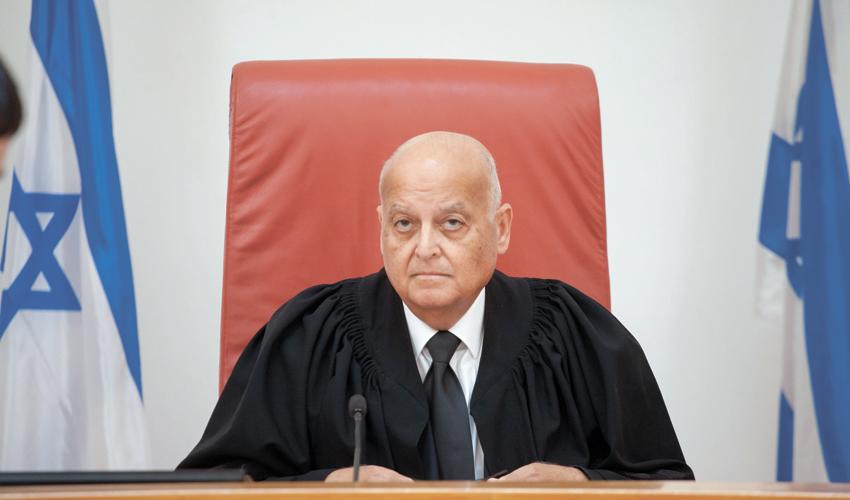 השופט בדימוס סלים ג'ובראן (צילום: אמיל סלמן)