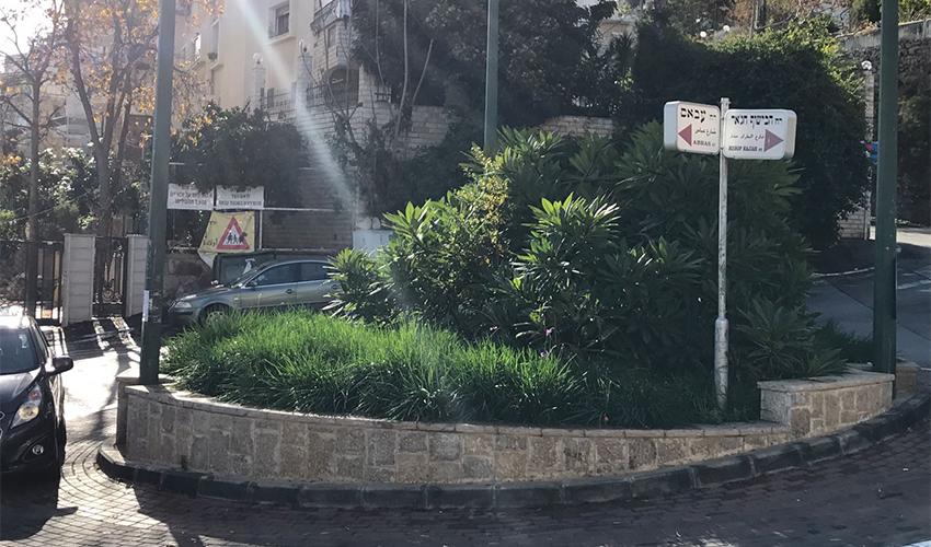 רחוב עבאס (צילום: דוברות עיריית חיפה)