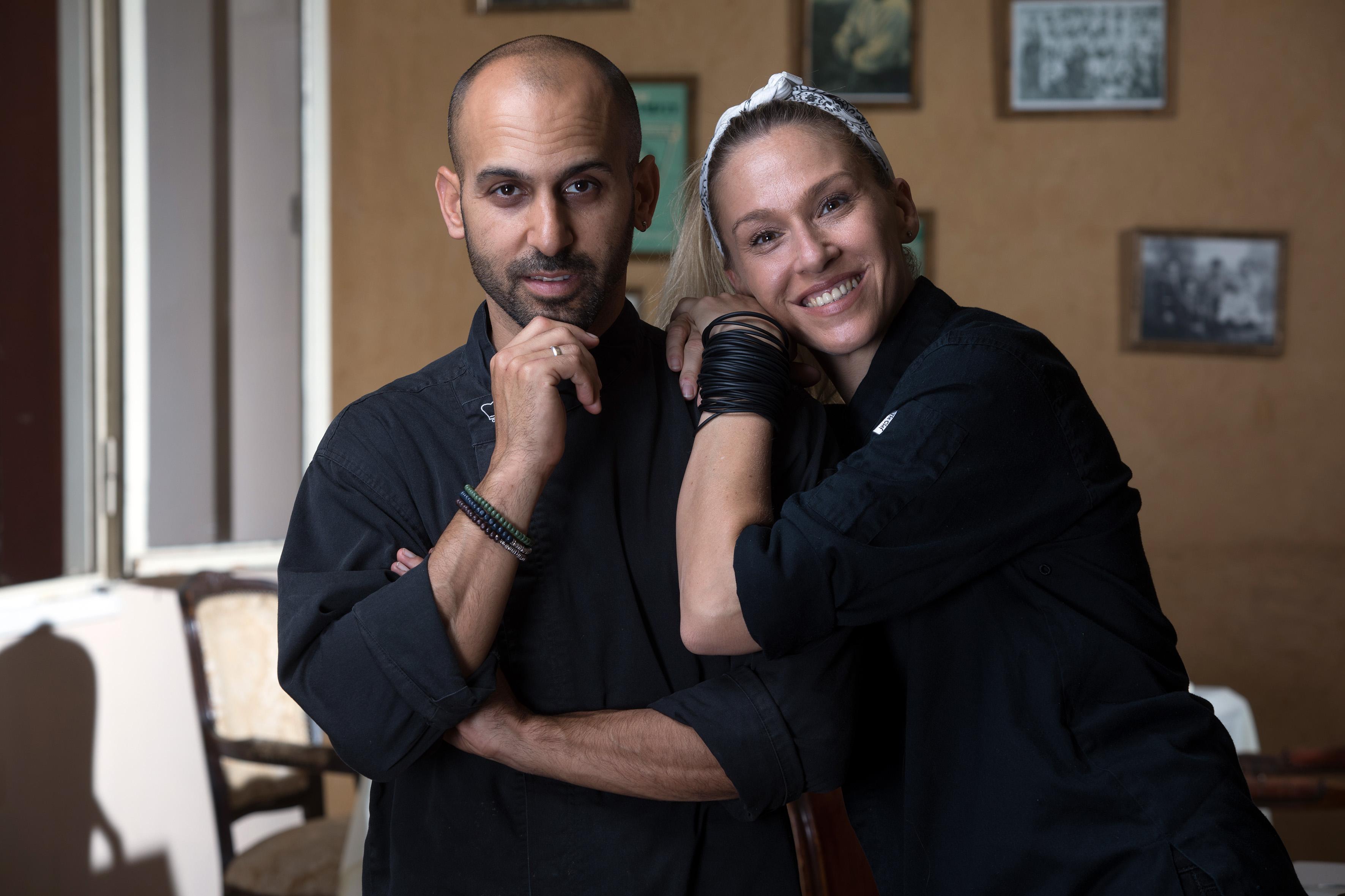 """רוני וכפיר גליקו. """"התבגרנו ביחד עם המסעדה"""" (צילום: אסף רונן)"""