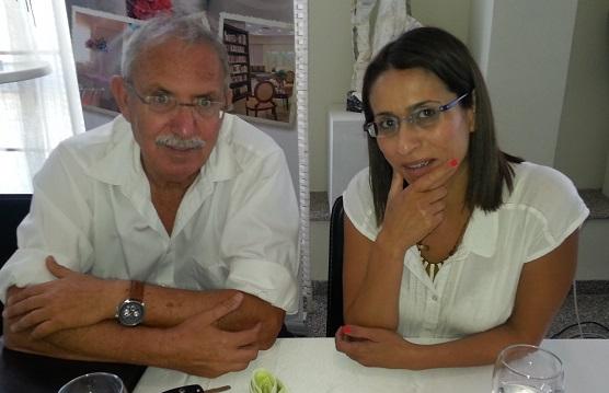 שרית גולן שטייברג ויעקב בורובסקי מסיעת מהפך בחיפה