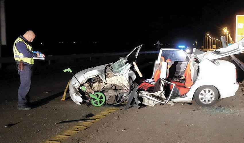 תאונת דרכים (צילום: אלכס ליבק)