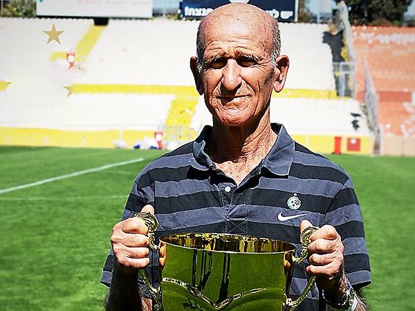 אשר עלמני. אחד מהשחקנים ההגונים בהיסטוריה של הכדורגל הישראלי (צילום: מכבי חיפה האתר הרשמי)
