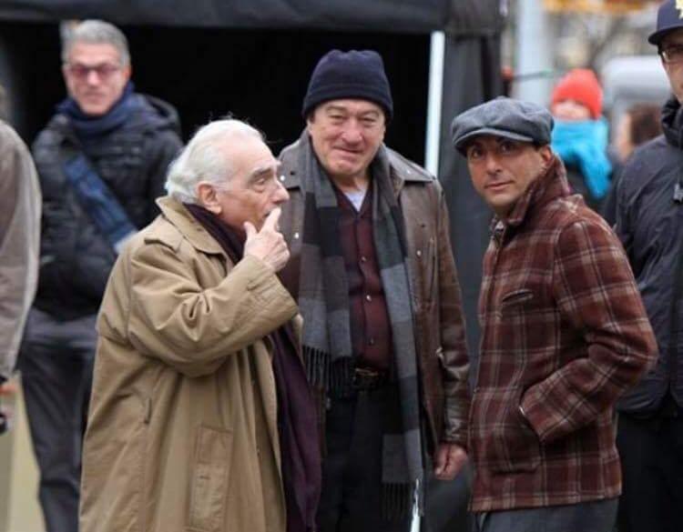 """דני A עם רוברט דה נירו ומרטין סקורסזה. """"אני חושב שהוא הטוב ביותר"""""""