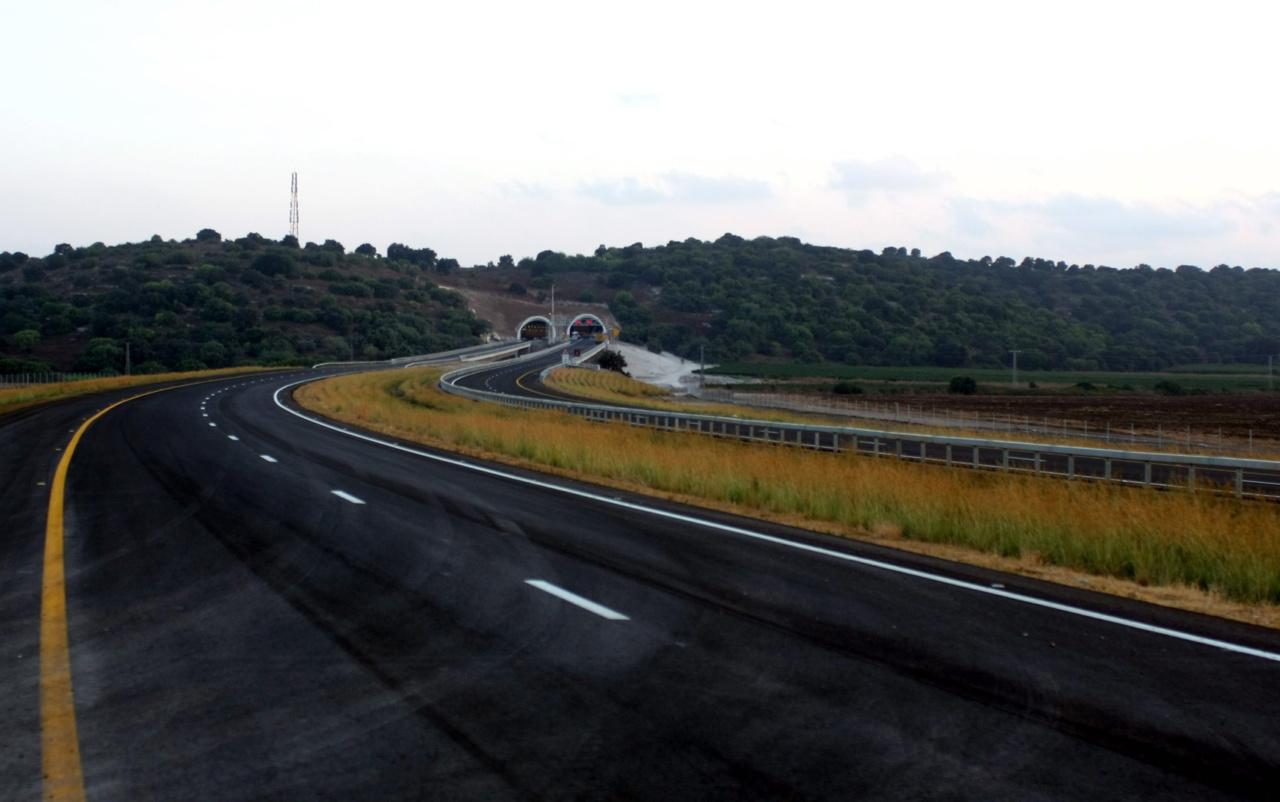 כביש 6 (צילום: איציק בן מלכי)