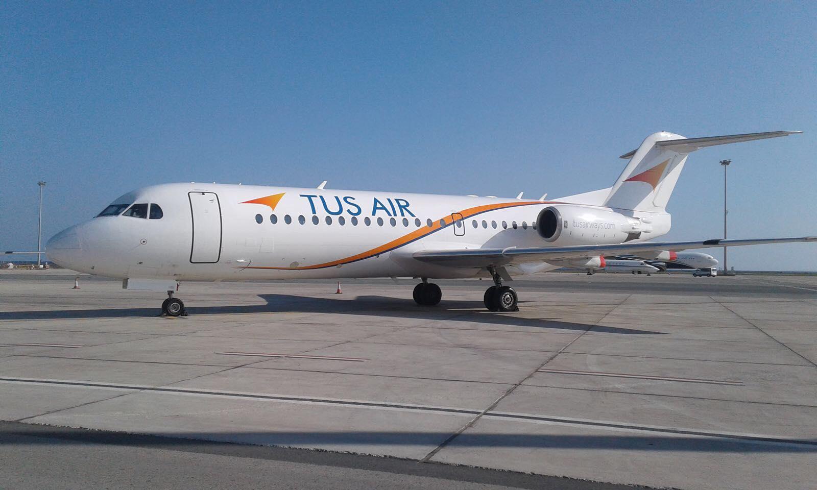 מטוס של חברת Tus (צילום: דוברות חברת Tus Airways)