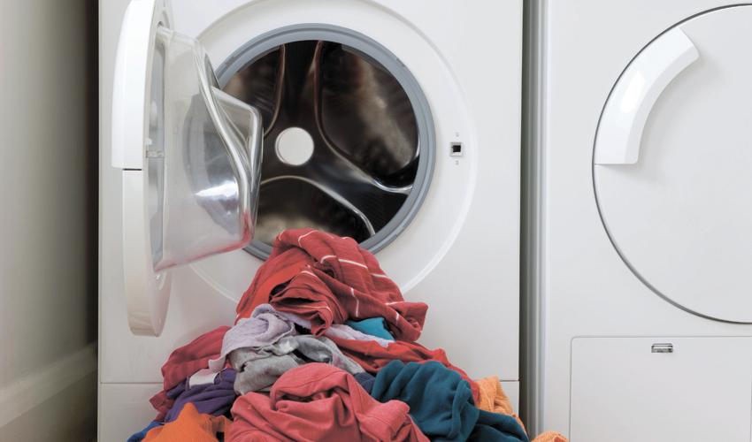מכונת כביסה. טכנאי הוזעק למתחם (צילום: א.ס.א.פ קריאייטיב/INGIMAGE)