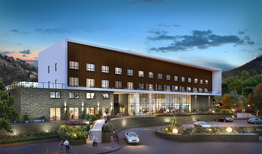 מלון קדם (הדמיה: evolvemedia)