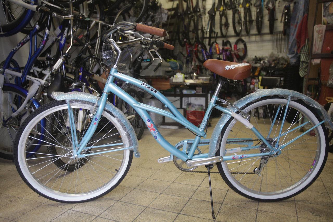 אופניים שיהיו רק שלו (צילום: אורן זיו)