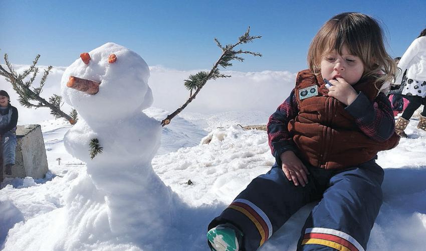 פעם ראשונה בשלג