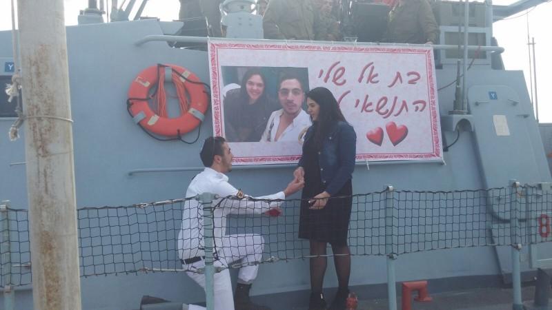 """הצעת הנישואים של אוריה כהן. """"לקח לי שלושה חודשים לתאם את הצילומים ואת האישורים"""" (צילום: ts הפקות)"""