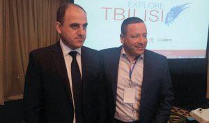 """גילפז ודויד נרמניה, לשעבר ראש העיר טבילסי.""""יש להם נכונות לעזור, עם כבוד ועם הערכה"""""""