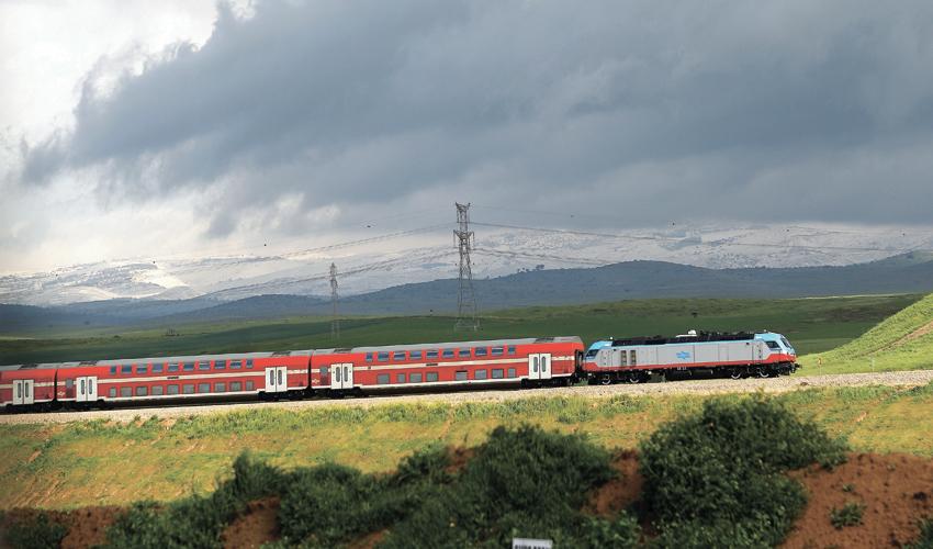 רכבת ישראל (צילום: אילן אסייג)