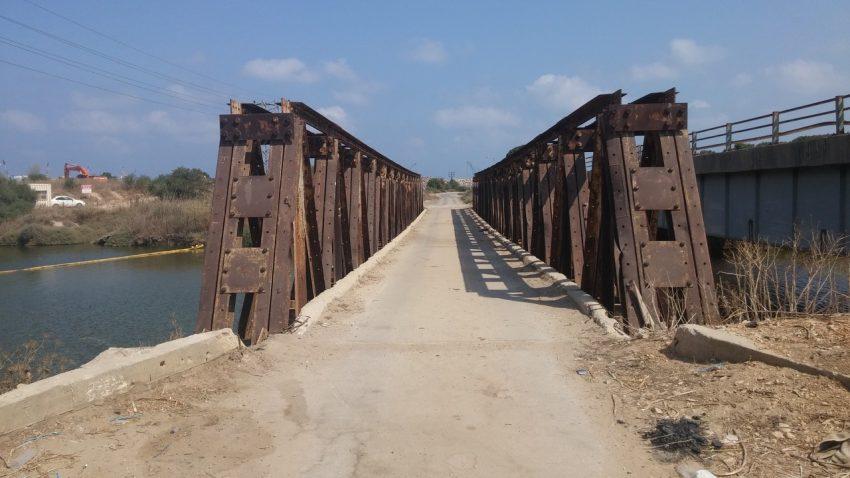 הגשר הישן על הקישון (צילום: רמי שלוש)