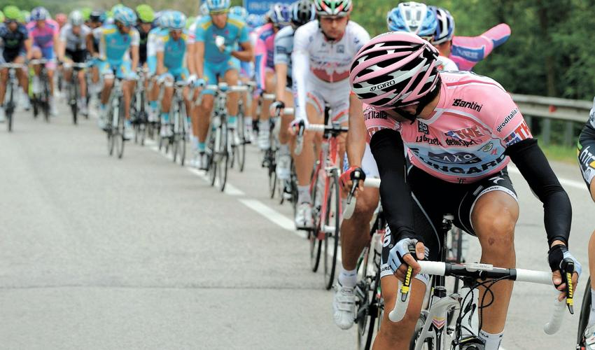 מרוץ ג'ירו ד'איטליה (צילום: AP)