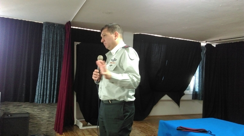 אלוף אהרון חליוה באליאנס (צילום: בית הספר אליאנס)