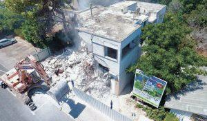 """פרויקט תמ""""א 38 במסלול הריסה ובנייה מחדש שיוזמת חברת גבי בן גלים ברחוב רענן 4 בכבביר (צילום: חברת גבי בן גלים)"""