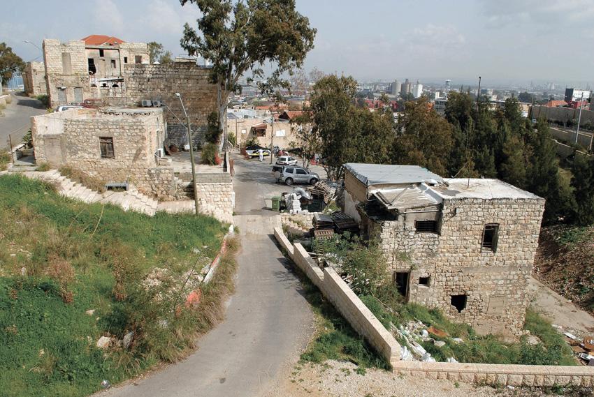 רחוב דוד בן הרוש בוואדי סאליב (צילום: דורון גולן)